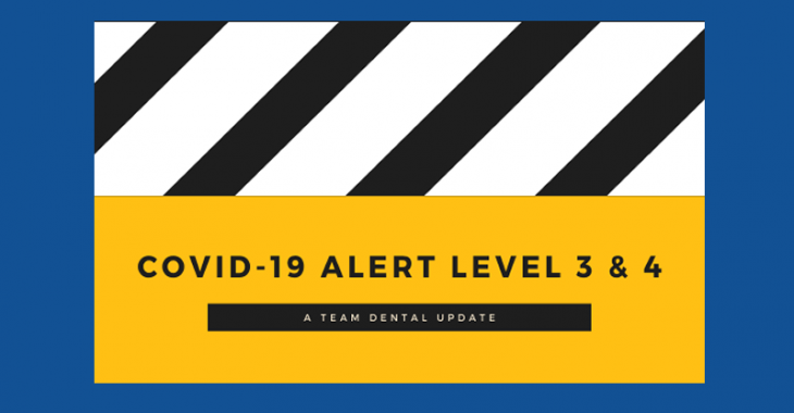 Covid-19 Level 3. Going to the Dentist